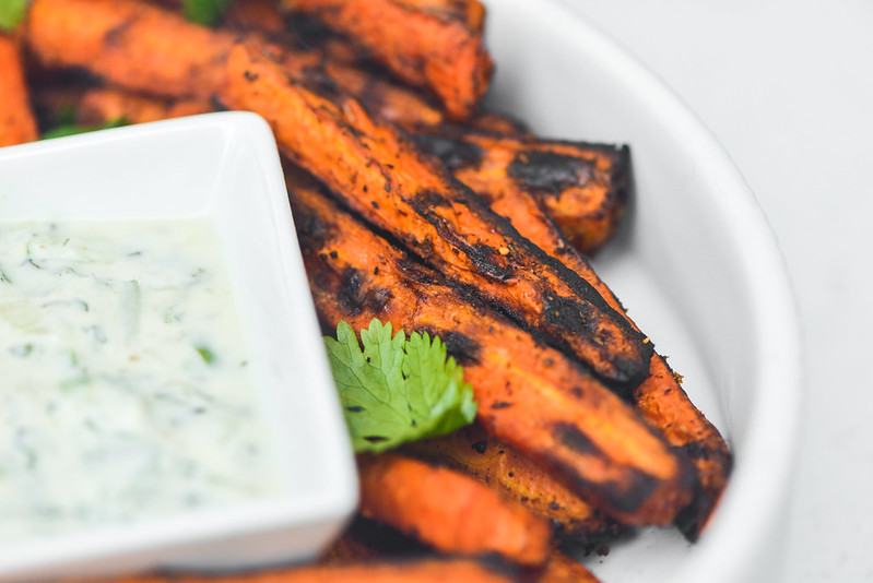 Chili-spiced Carrots