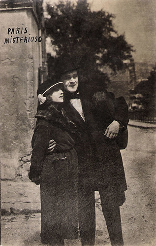 Pearl White and Riley Hatch in The Exploits of Elaine (1914)