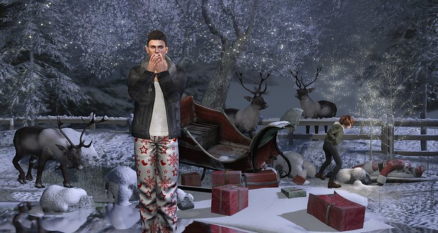 If Something Should Happen To Me, Put On My Suit. The Reindeer Will Know What To Do.