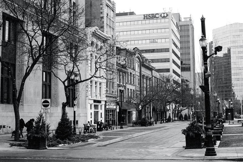 King St. Looking West Towards James II