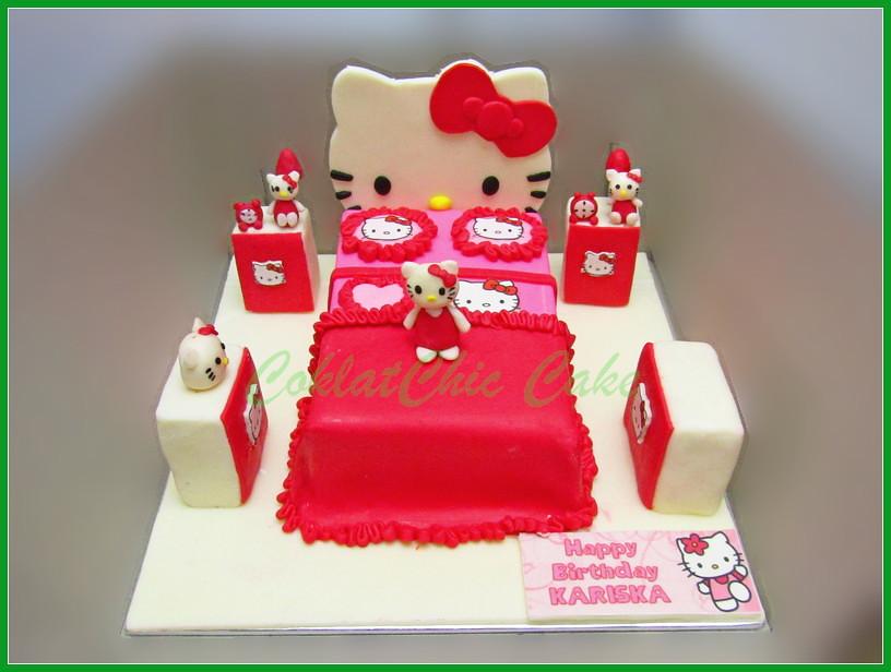 Cake Hello kitty Bedroom KARISKA 15 cm