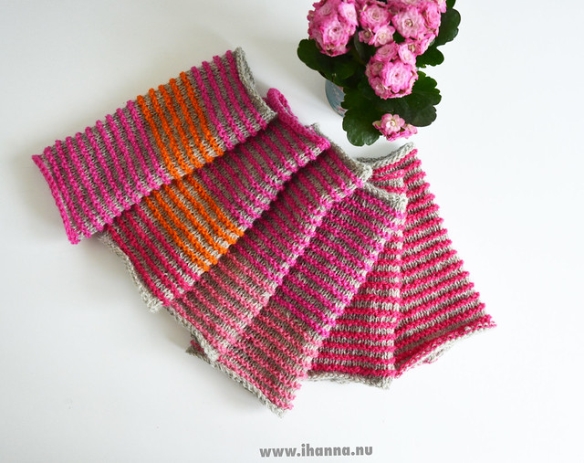 Three pairs of Wrist Warmers