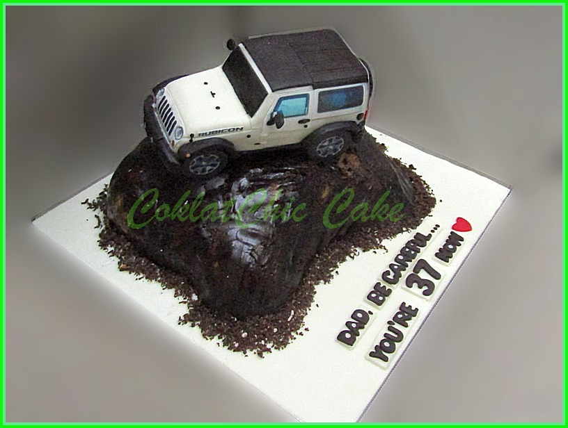 Cake Jeep Wrangler OffRoad DAD 15 cm