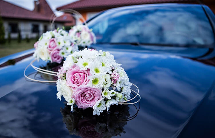 Artificial Flowers Car Decoration