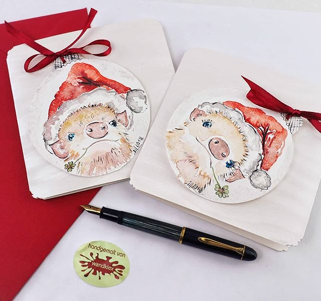 Tierische Weihnachtsgrüße.Das Werden Mal Tierische Weihnachtsgrüße Auftragsarbe Flickr