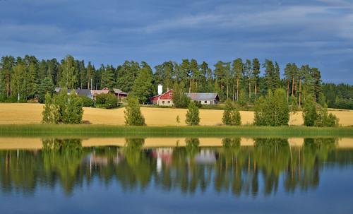 Hard way to the Finnish farm :-))))