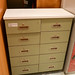 10 drawer small drawer unit c/w top E120