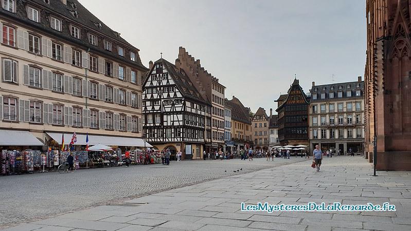 Place de la Cathédrale de Strasbourg