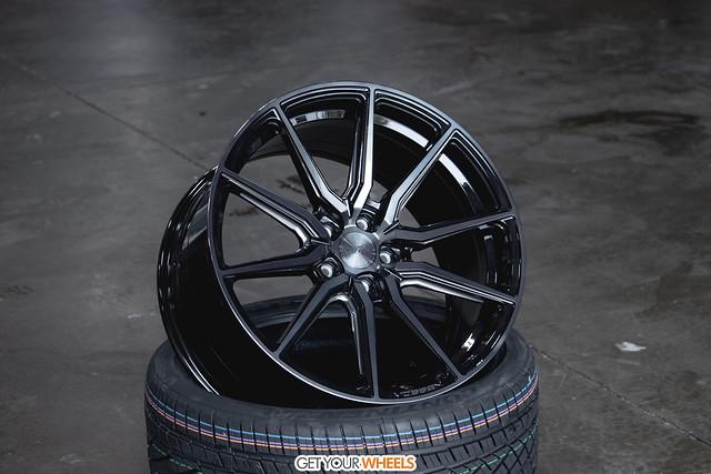 Vossen HF3 - Double Tinted Gloss Black