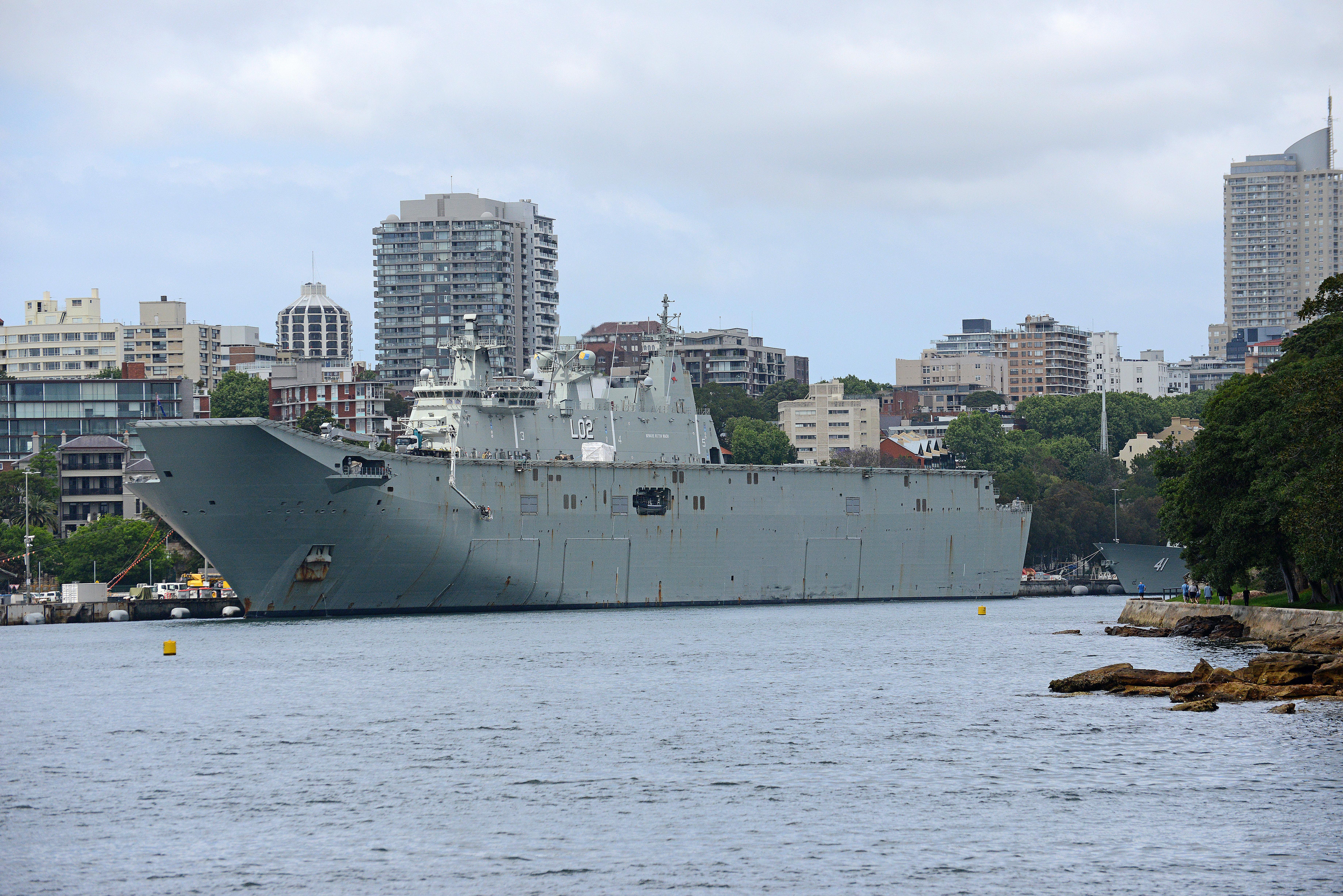 Australian Navy - Marine Australienne - Page 6 46741575482_bd061e3c3b_o