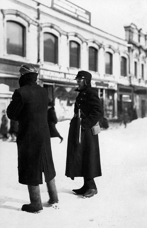 1924. Джон Грауденц в Москве
