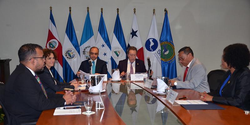 Firma del Memorando de Entendimiento entre el SICA y la SIECA en el marco del Fondo España-SICA 2018-2021