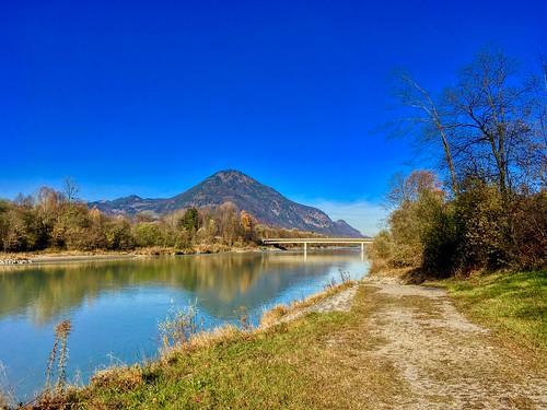 River Inn near Niederndorf, Tyrol, Austria