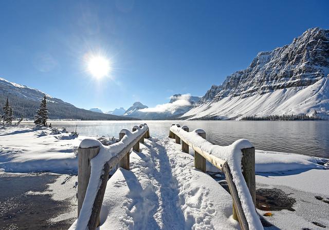 雪后渡桥, Nikon D750, AF-S Nikkor 17-35mm f/2.8D IF-ED