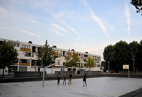 Basketbalveld Casablanca, Kessel-Lo (Leuven)