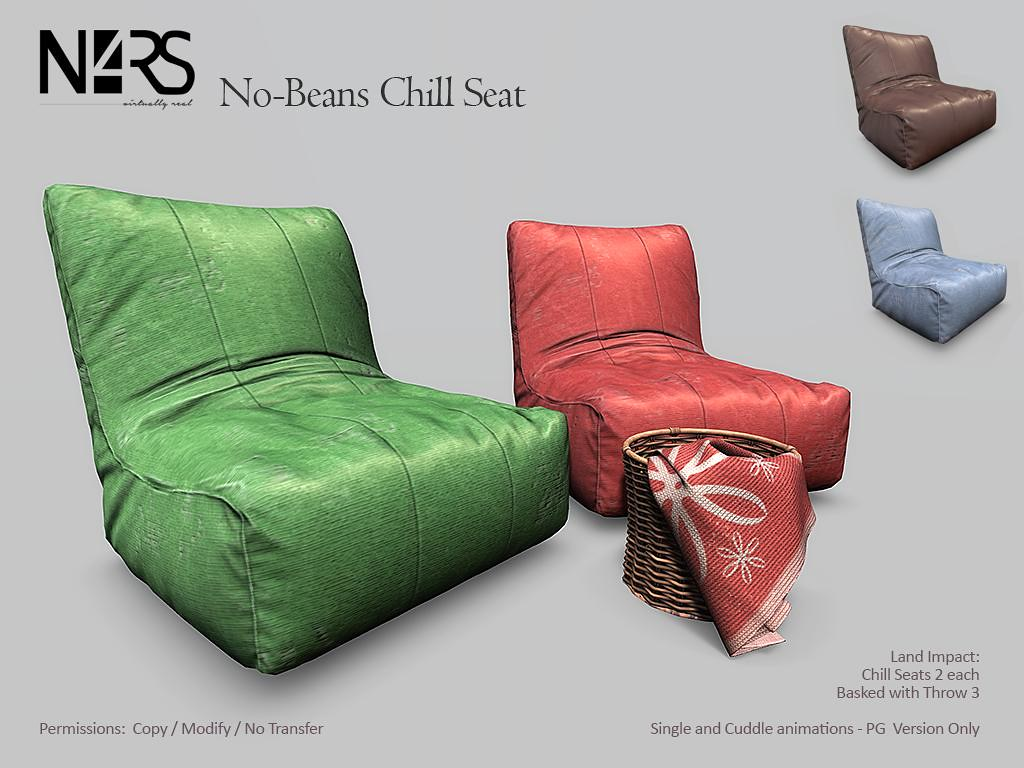 No-Beans Chill Seat