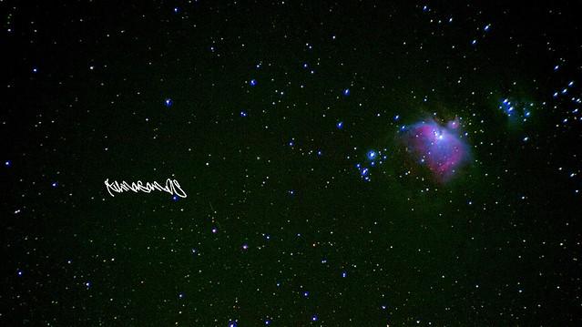 オリオン大星雲。