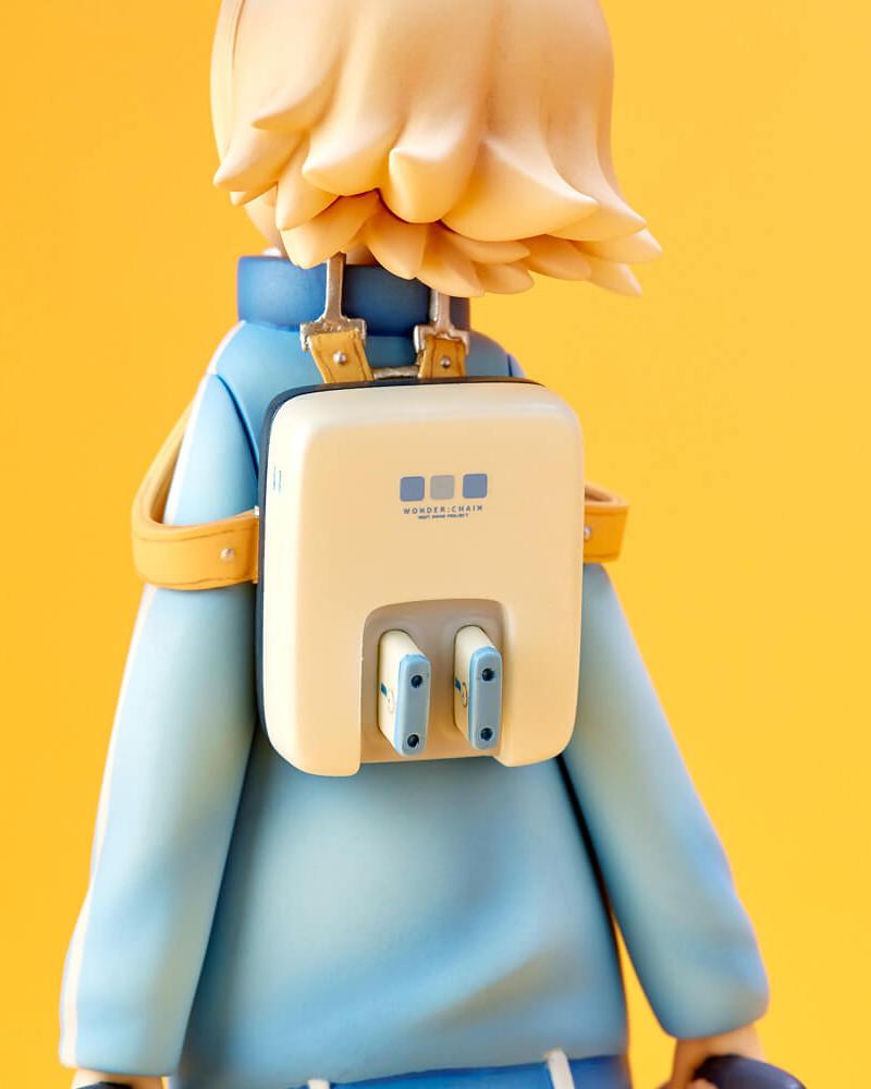 【WF2019冬限定】海洋堂xGSC『Wonda-chan NEXT DOOR PROJECT』FILE:07 POCO Ver. 未塗裝GK套件