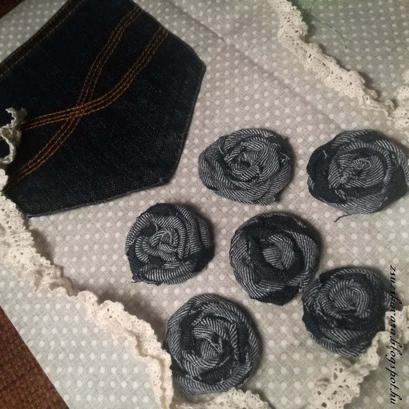 bag from jeans, easy bag, sewing , embroidery roses