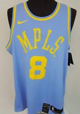 brand new 95b8d 111db Nike Kobe Bryant #8 Lakers MPLS Authentic Swingman Jersey ...