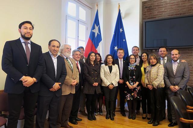 Subsecretario Salaberry visita Región de Magallanes y de la Antártica Chilena | 11.01.19