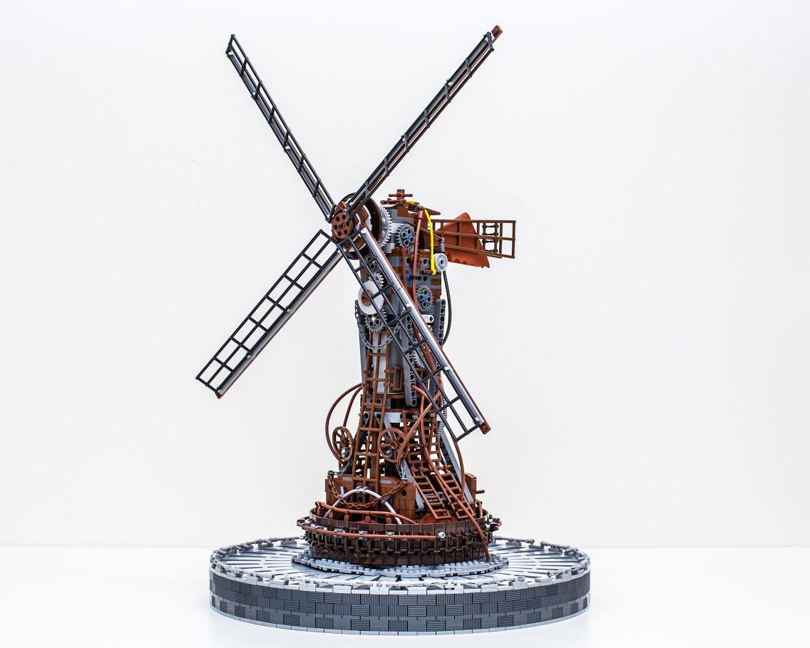 лего мельница постапокалипсис