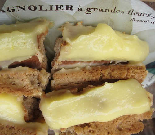 almond Meyer-lemon alfajores (Argentinian sandwich)