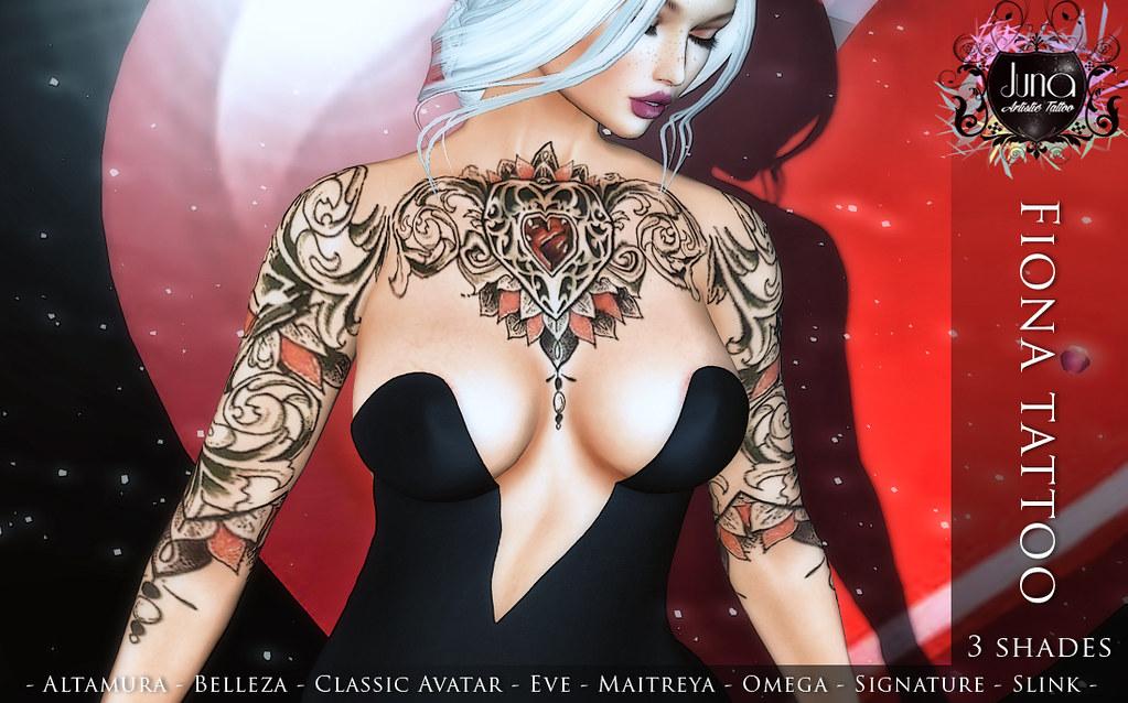 Fiona tattoo - TeleportHub.com Live!