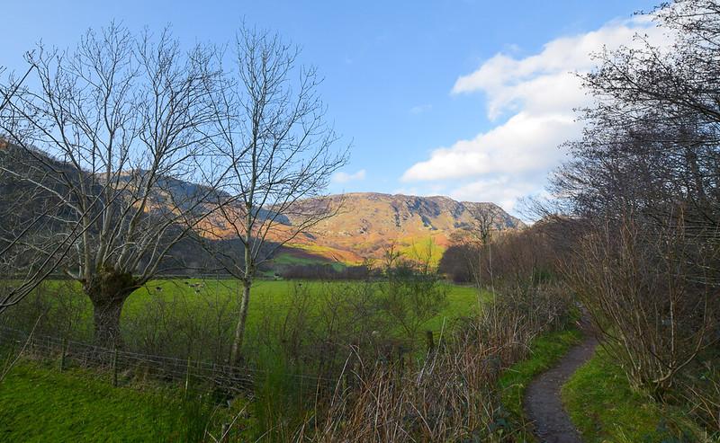 Borrowdale walks Lake District
