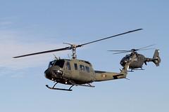 El último vuelo del HU-10 en el Ejército