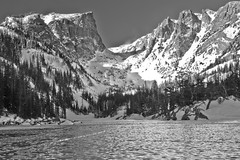 Winter - Dream Lake - Rocky Mountain National Park - Colorado