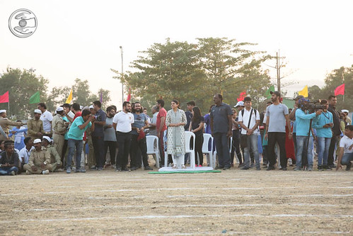 Blessings by Satguru Mata Ji at Race ground