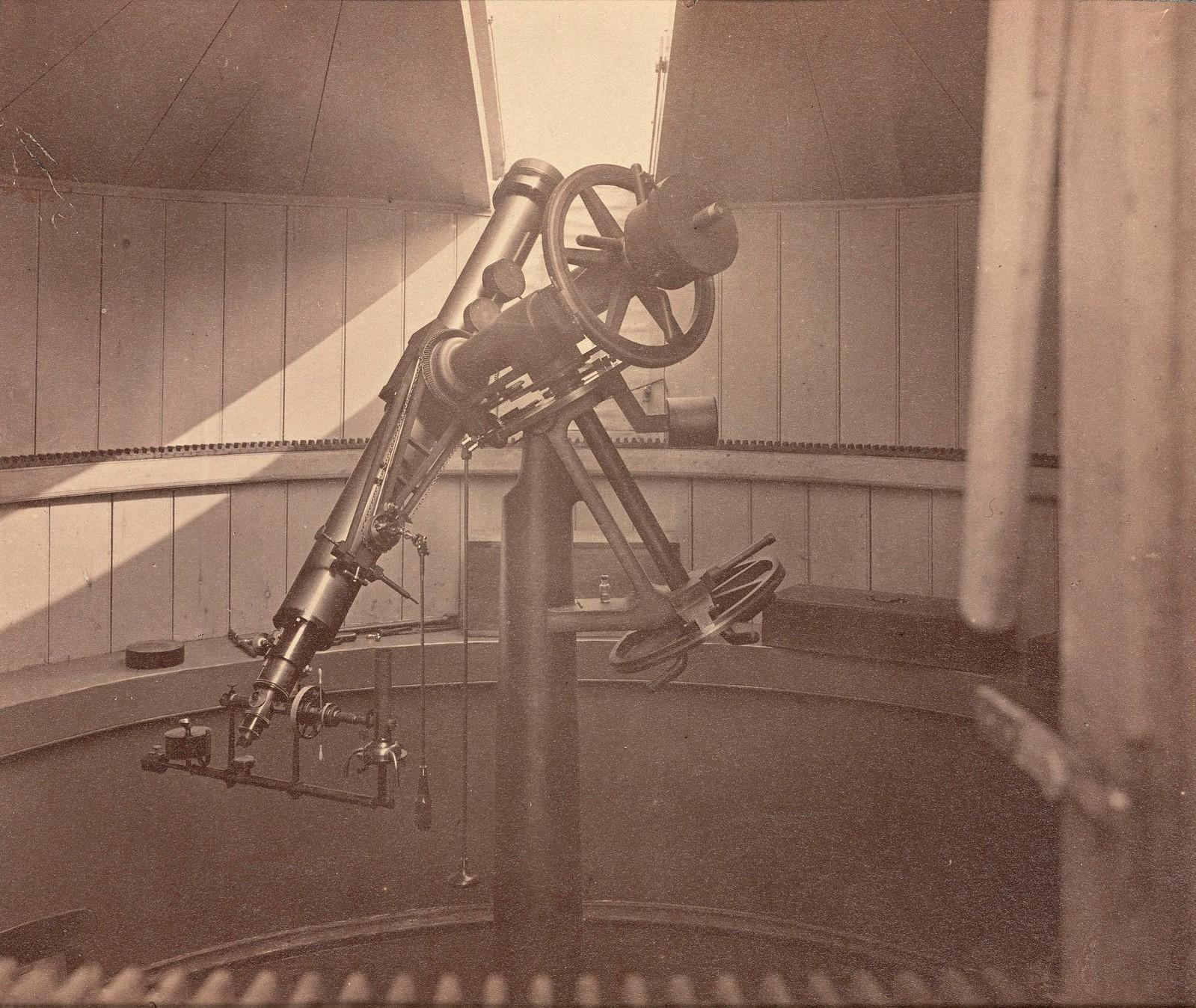Телескоп с экваториальной (параллактической) монтировкой
