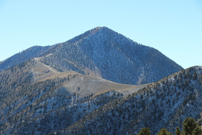We turned around early and didn't summit Telescope Peak - Maybe next time!