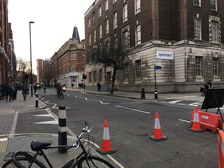 Judd Street 8.50 am post closure