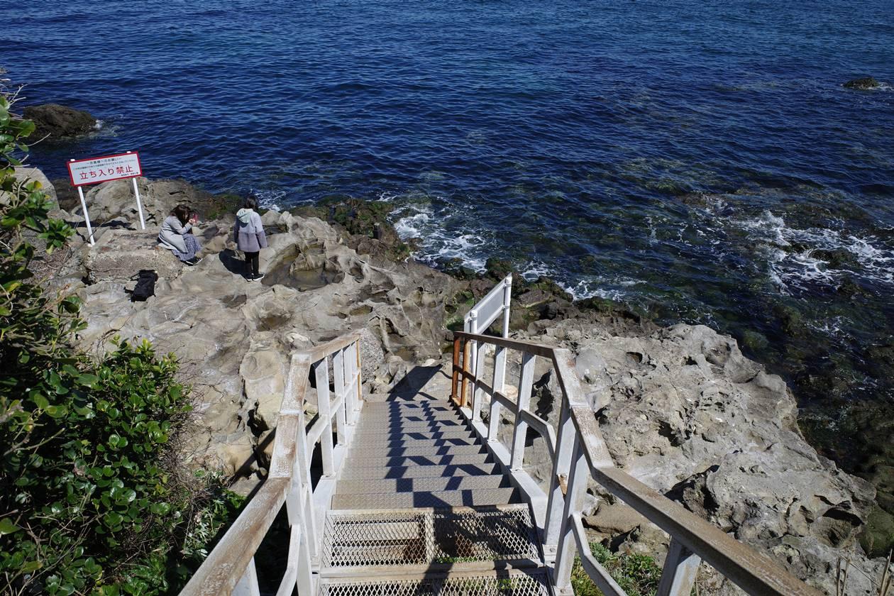 猿島・岩礁エリア