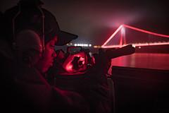 USS Donald Cook transits Bosphorus Strait