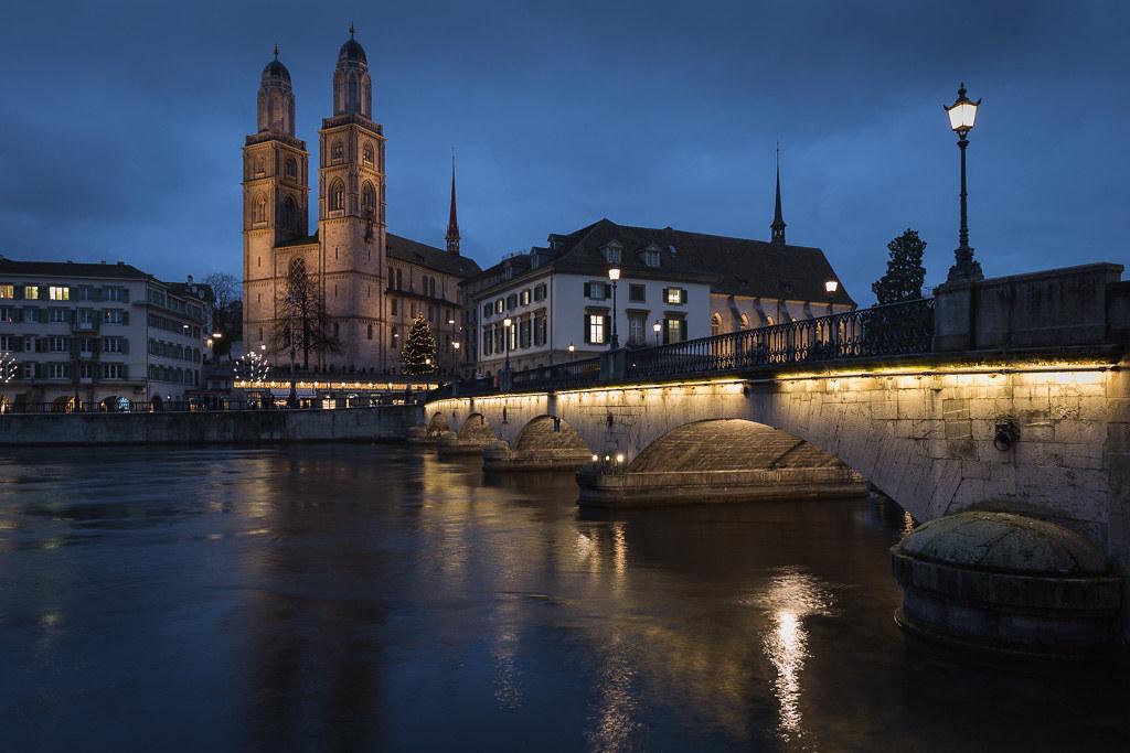 Zurich - Limmat River