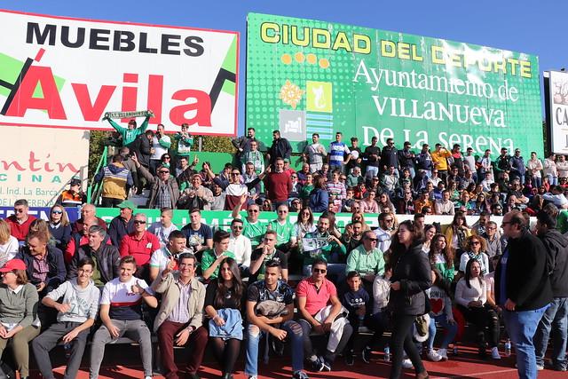 C.F. Villanovense Vs Sevilla F.C. 1 nov 18