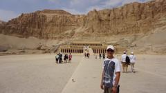 The Funerary Temple of Queen Hatshepsut, West Bank, Luxor, Egypt.