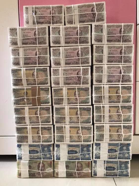 Chuyên đổi tiền mới, tiền lì xì tết kỷ hợi 2019