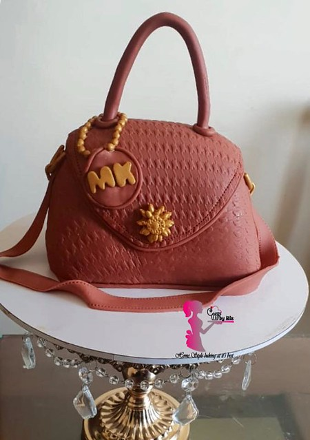 MK Handbag Cake from Cakes By Riz