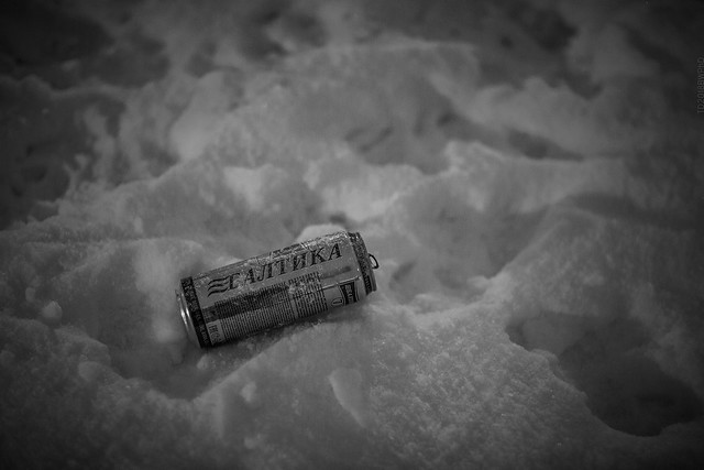 2018.12.22_356/365 - In Russia people like to drink beer in winter - no need to cool it.