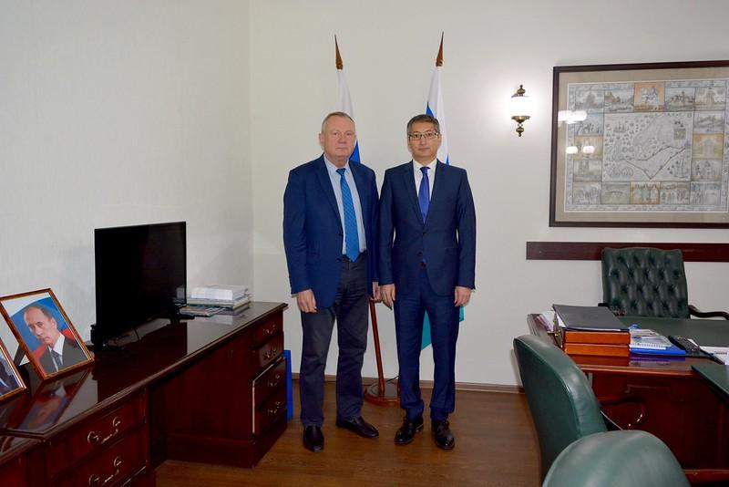 Встреча с Генеральным консулом Казахстана в Санкт-Петербурге