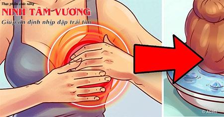 Rửa mặt bằng nước lạnh giúp làm giảm nhịp tim