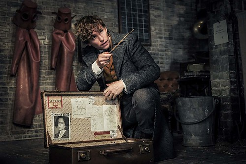 Newt Scamander. From A First Look at Fantastic Beasts: The Crimes of Grindelwald