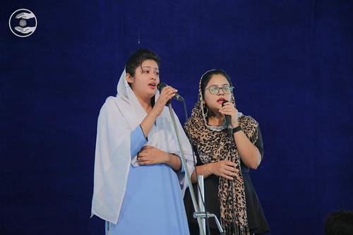 Devotional song by Minakshi and Saathi from Uttam Nagar Delhi