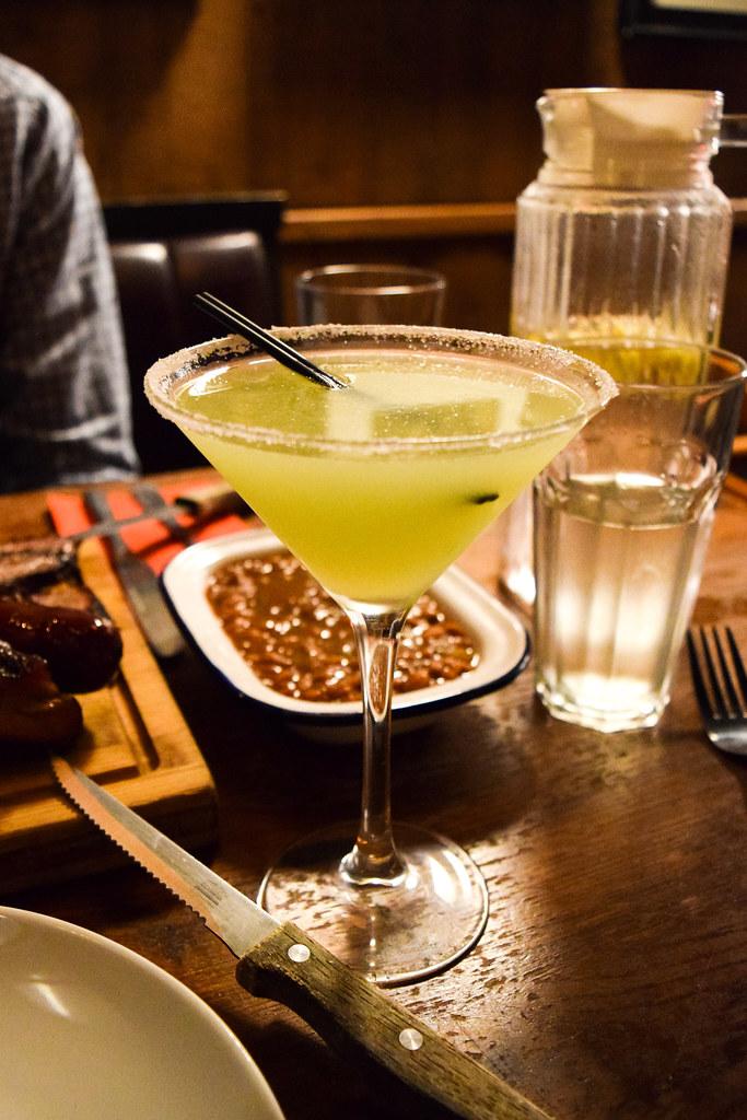 Mezcal Margaritas at Red Dog Saloon, Soho