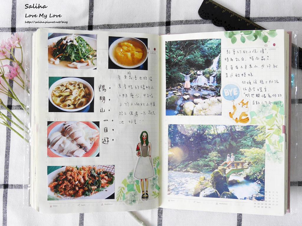 手帳日記裝飾分享紙膠帶設計水彩遊記 (8)