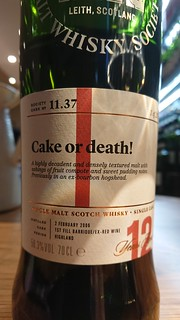 SMWS 11.37 - Cake or death!